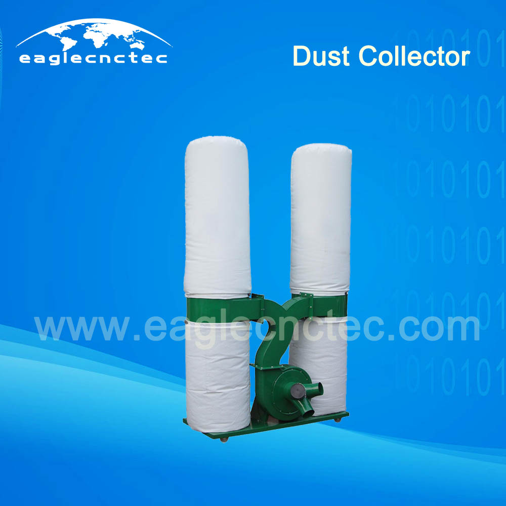 Four Bags Saw Dust Collector 3.0KW Two Bags 2.2KW for Wood CNC Router
