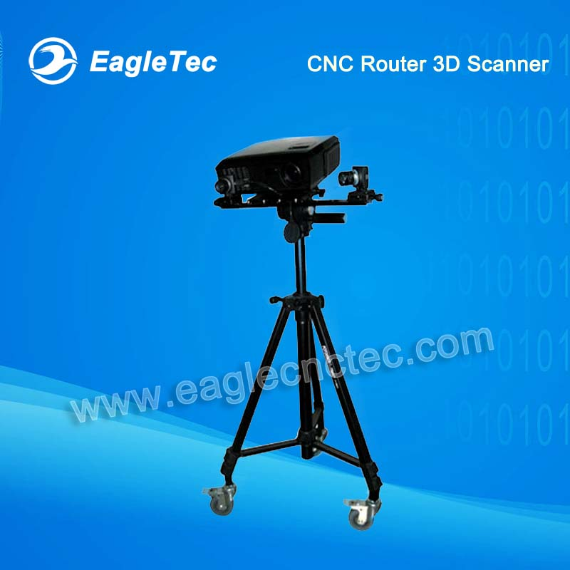 CNC Router 3D Models Creator Industrial 3D Scanner for STL Files Making