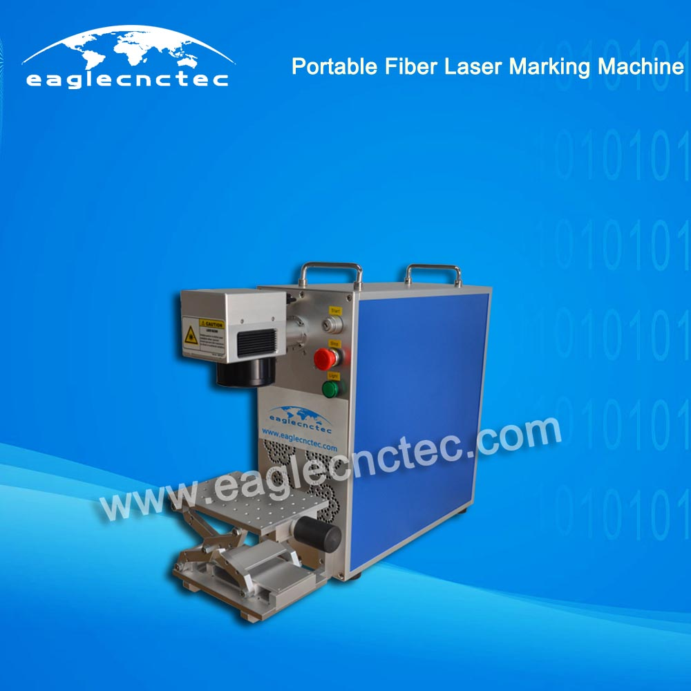 Portable CNC Fiber Laser Nameplate Marking Machine