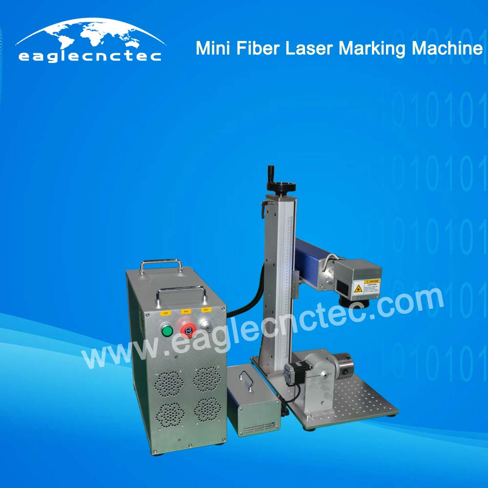 Small Fiber Laser Engraver Marking Machine