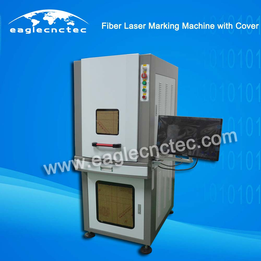 Fiber Laser Metal Marking Machine with Safeguard Cover