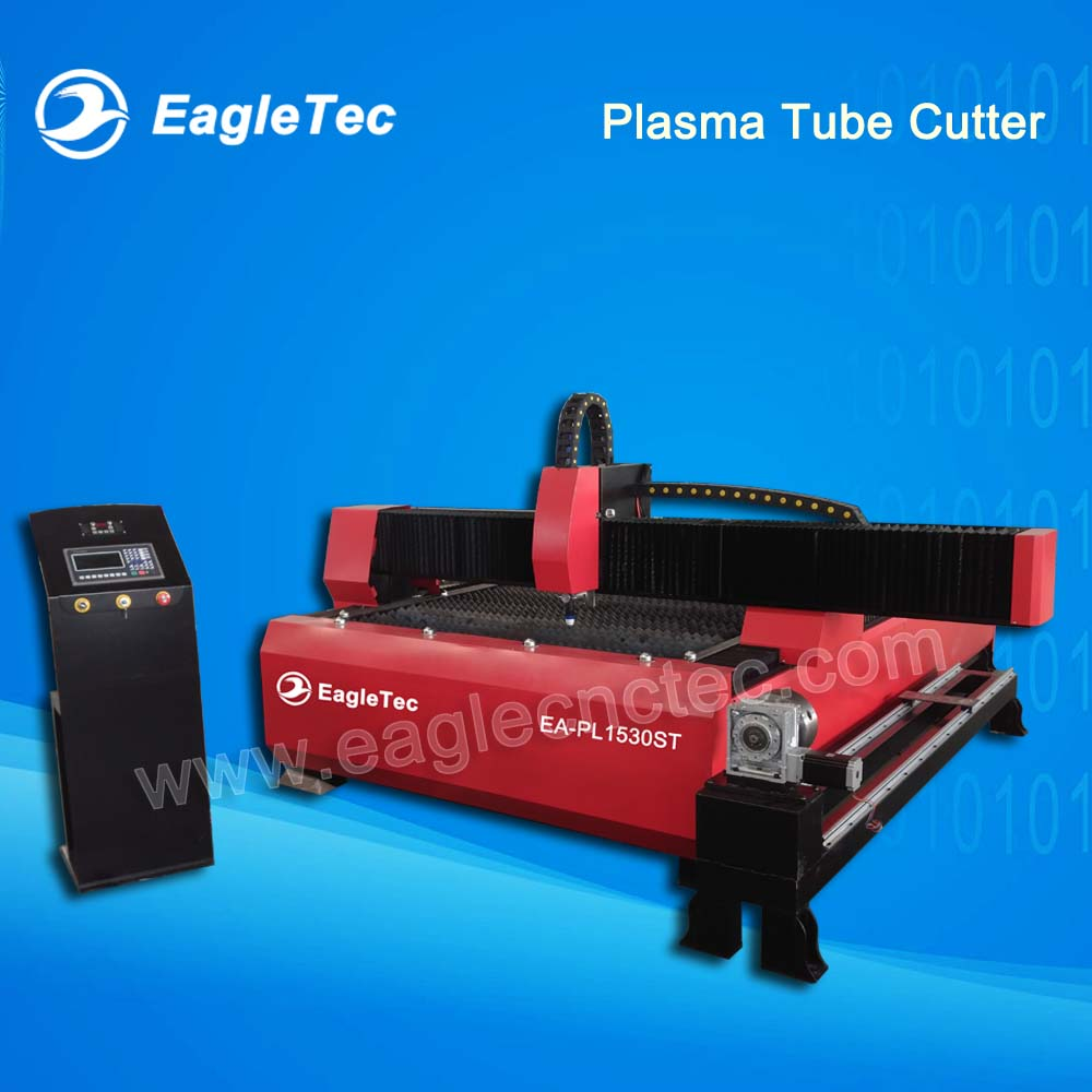 Circular Pipe and Sheet Metal Cut Solution Plasma Tube Cutter with Rotary Axis 1500x3000mm