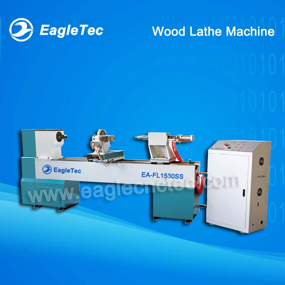 CNC Wood Lathe Machine with One Axis One Tool One Spindle TL1530SS