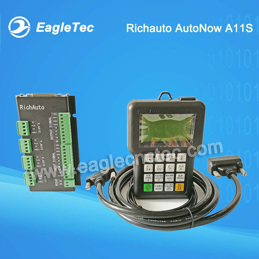 Richauto AutoNow A11S A11E DSP Controller System for 3 Axis CNC Router