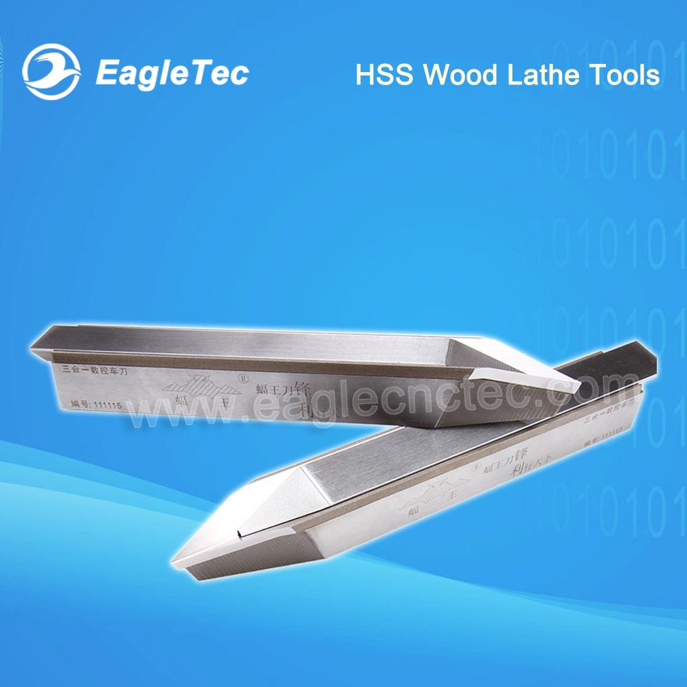 Triple Alloy Steel Cutters Chisel Knife for CNC Wood Lathe