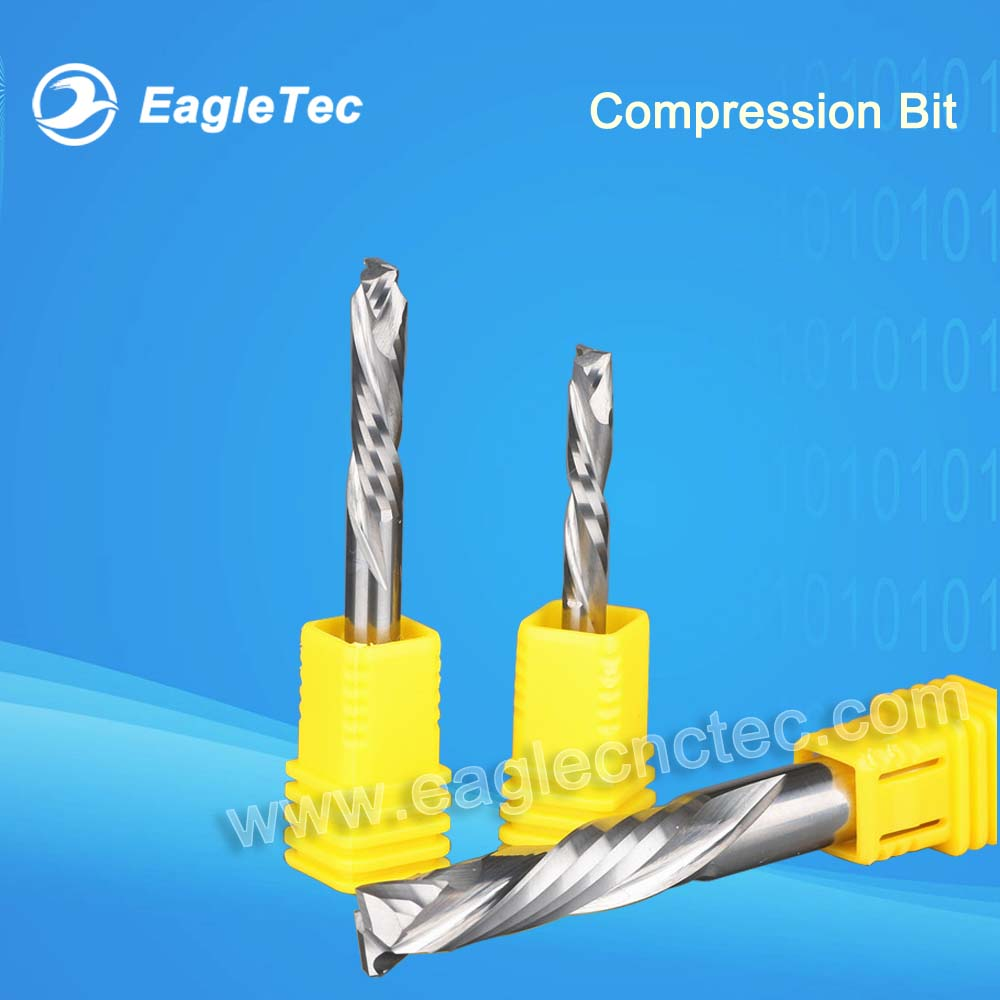 6mm Compression Bit Up and Down Spiral Cutter 6x22mm 6x25mm