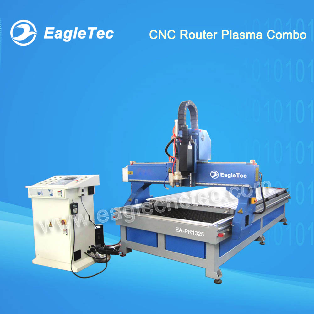 CNC Router Plasma Combo Machine for Wood And Metal Cutting (2 in 1 model)