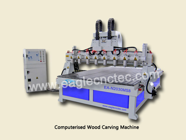 computerized wood carving machine