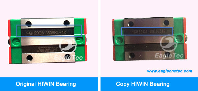 original hiwin linear bearings production sequence number