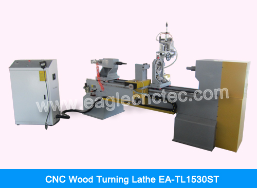cnc wood turning lathe