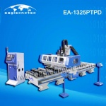 ATC CNC Router P.T.P Machining Center with Gang Drill Unit