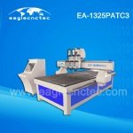 3D Wood Cutting CNC Machine with Pneumatic Tool Changer