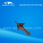 Adjustable Wood Cutter with Angle