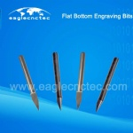 Flat Bottom Engraving Bits Conical Tools for Wood Carving