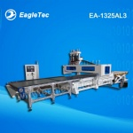 Best CNC Wood Router for Kitchen, Office, Custom Cabinets Production with Auto Loading Unloading 1300x2500mm