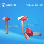 150 Degree V Router Bit With Shank 6mm For V Shaped Cut