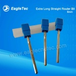 Double Flute 6mm Extra Long Straight Router Bit for MDF / Plywood / Foam / Multilayer Board