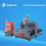 CNC Drilling Machine for Plate & Rectangular Tube Metal Steel Iron Tapping & Drilling 1000x2000mm