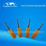 Double Flutes Spiral Downcut Router Bit