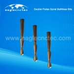 Ball Nose Double Flutes Upcut Spiral Router Bit